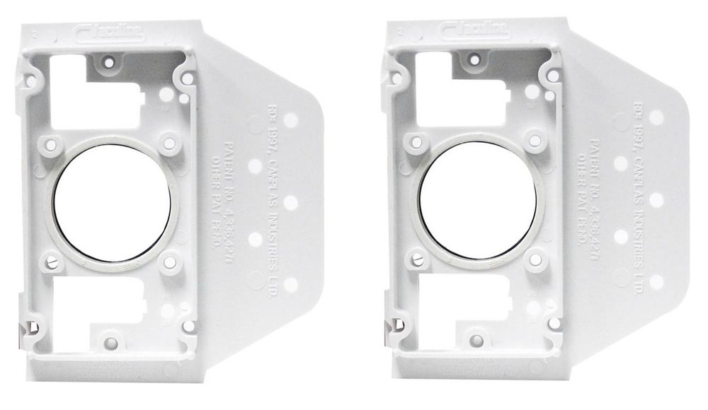 Mounting Plate for central vacuum valves
