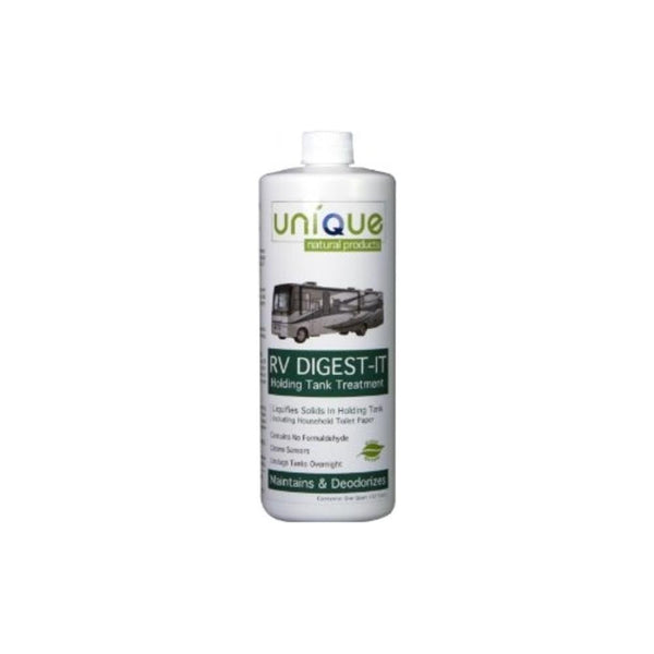 Unique Natural Products RV Digest-It Holding Tank Cleaner 4 oz. 32 oz. 1 Gal
