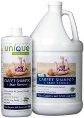 Unique Carpet Shampoo Concentrate 32oz 1Gal $16.00-$45.00