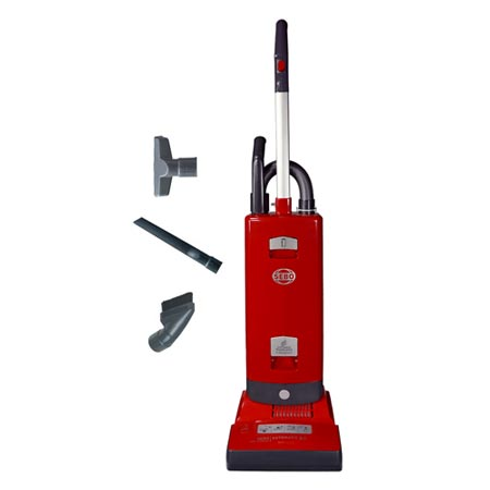 Sebo X7 Automatic Upright Vacuum Red (no Boost/no light)