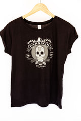 Women's Calaveras T-Shirt in Black
