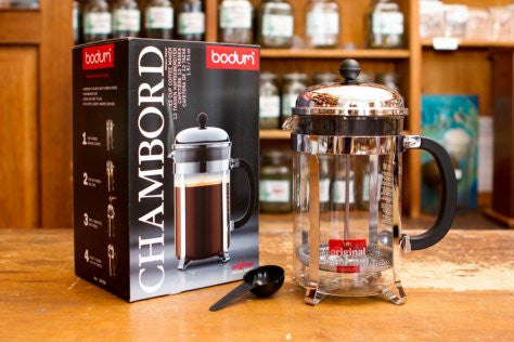 Bodum Classic Chamboard French Press - 12 Cup