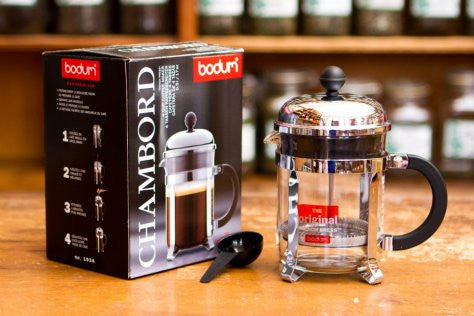 Bodum Classic Chamboard French Press - 4 Cup