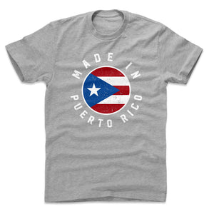 Puerto Rico Men's Cotton T-Shirt | 500 LEVEL