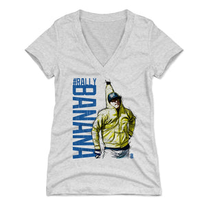 Enrique Hernandez Women's V-Neck T-Shirt | 500 LEVEL