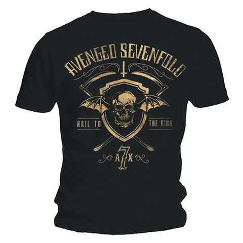 Avenged Sevenfold Shield And Sickle Men's Tee