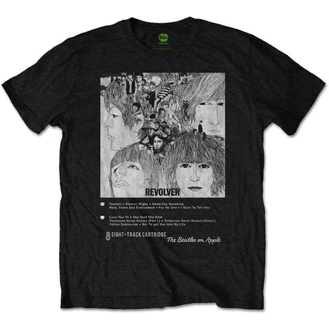 The Beatles 8 Track Collection: Revolver Men's T-Shirt
