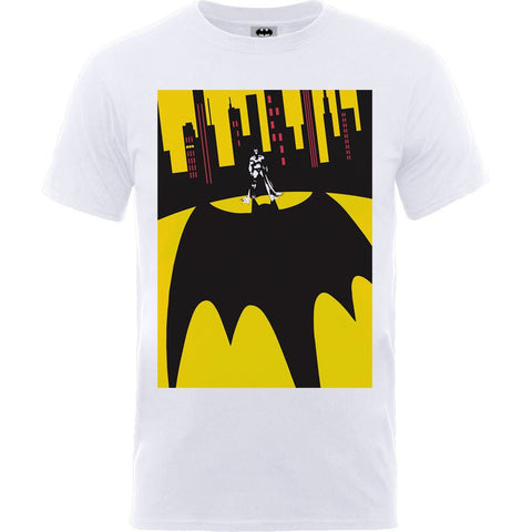 Batman - Bat Shadow White T-Shirt - BAY 57