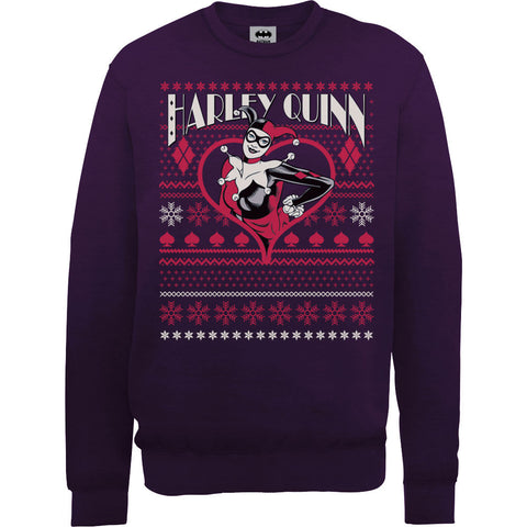 Harley Quinn Suicide Squad Women's Ugly Christmas Sweatshirt