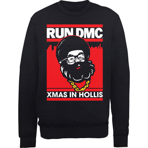 Run DMC Santa Christmas Sweatshirt
