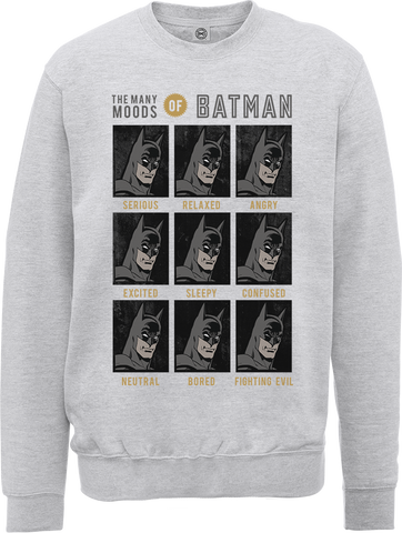 DC Originals The Many Moods Of Batman Men's Sweatshirt
