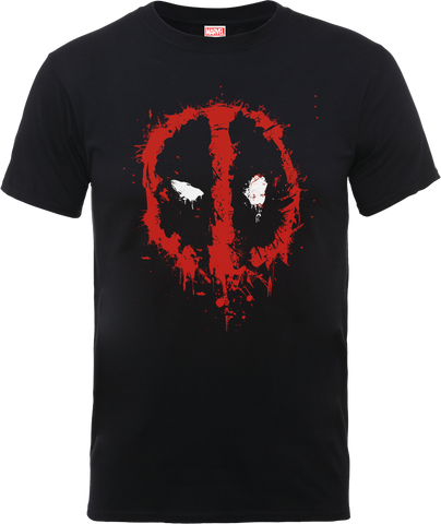 Deadpool Splat Face Men's T-Shirt