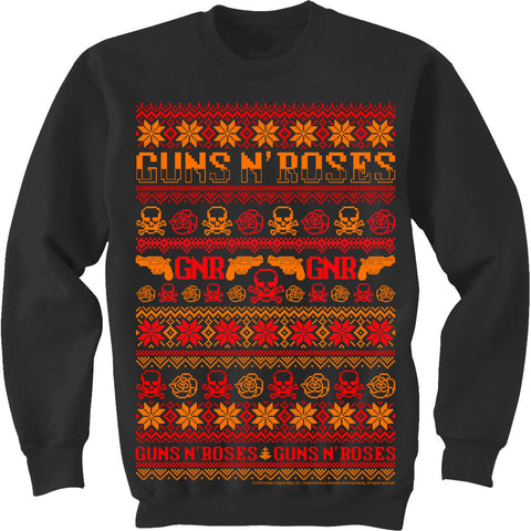 Guns N' Roses Christmas Men's Sweatshirt