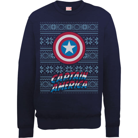 Marvel Captain America Christmas Women's Sweatshirt
