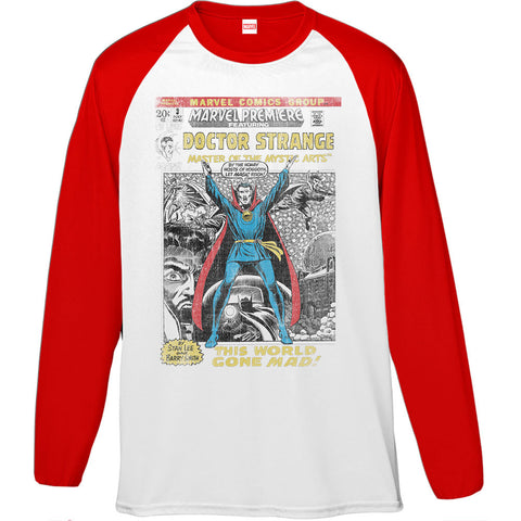 Marvel Dr Strange Comics Men's Baseball T-Shirt