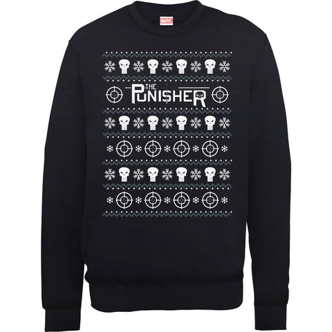 The Punisher Women's Ugly Christmas Sweatshirt