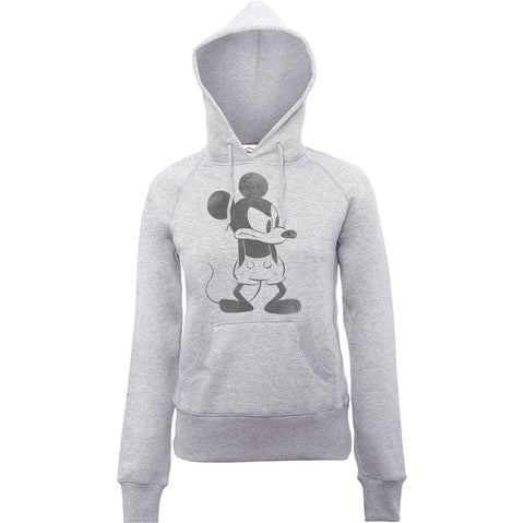 Disney Angry Mickey Mouse Women's Hoodie