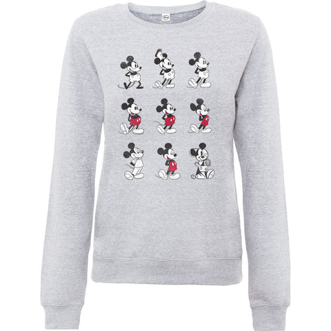 Disney Mickey Through The Ages Women's Sweatshirt