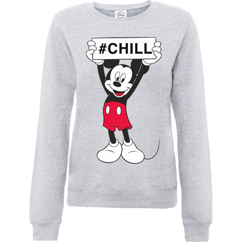 Disney Mickey Mouse Chill Women's Sweatshirt