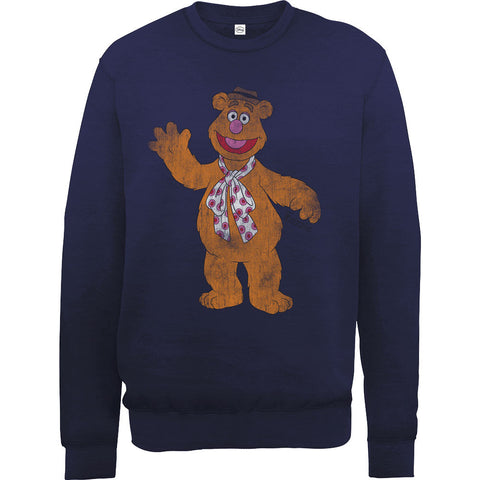 Muppets Fozzie Bear Men's Sweatshirt