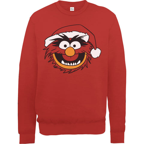 Muppets Animal Men's Ugly Christmas Sweatshirt