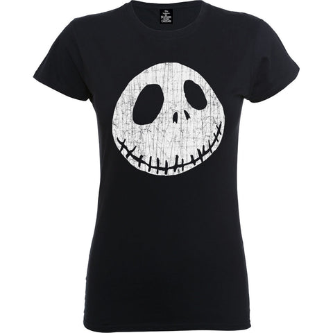 The Nightmare Before Christmas Jack Cracked Face Women's T-Shirt