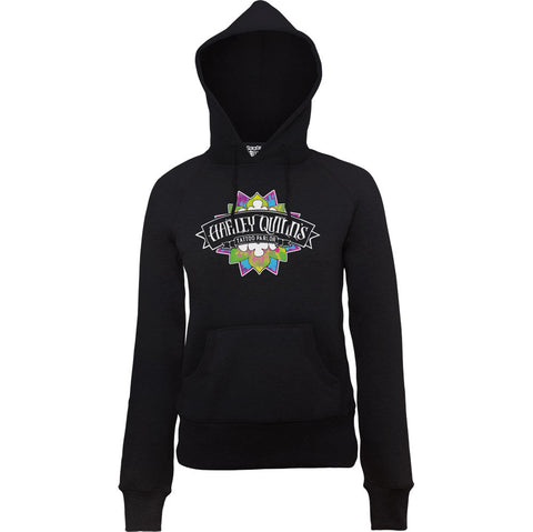Suicide Squad Harley Quinn Tattoo Women's Hoodie