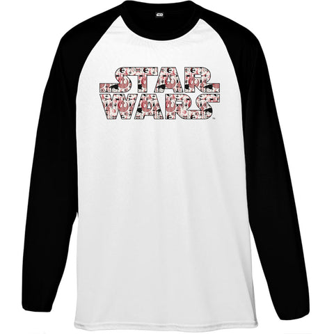 Star Wars Rogue One Rebel Alliance Red Logo Men's Baseball T-Shirt