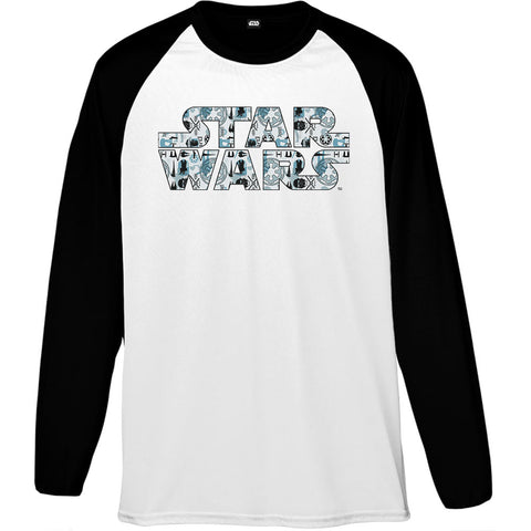 Star Wars Rogue One Galactic Empire Logo Men's Baseball T-Shirt