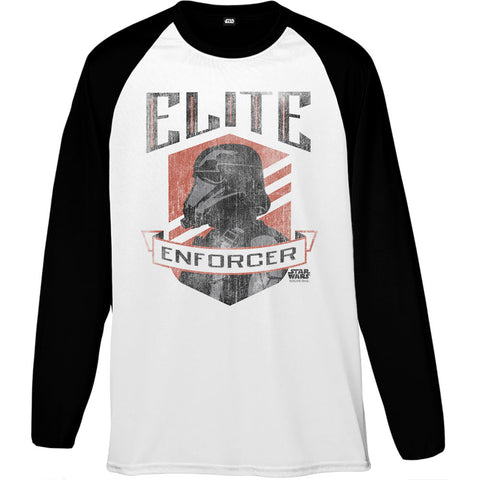 Star Wars Rogue One Rogue Elite Enforcer Men's Baseball T-Shirt