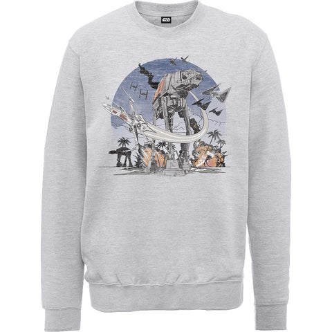 Star Wars Rogue One AT-AT Scarif Sweatshirt