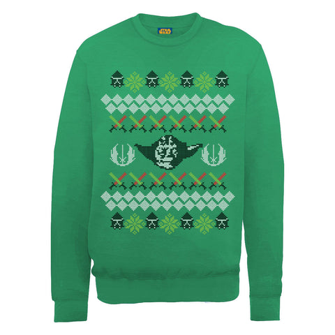 Star Wars Yoda Christmas Women's Sweatshirt