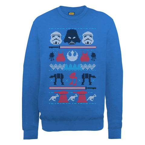 Star Wars Darth Vader Knit Christmas Women's Sweatshirt