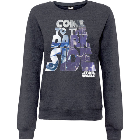 Star Wars Come To The Dark Side Women's Sweatshirt
