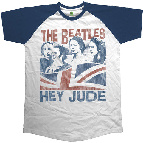 The Beatles Hey Jude Raglan Men's T-Shirt
