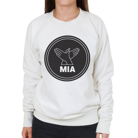 MIA Bird Song Black Women's Sweatshirt