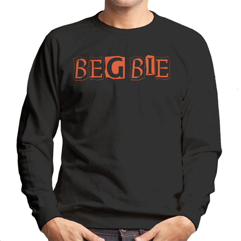 Trainspotting T2 Begbie Newspaper Print Men's Sweatshirt