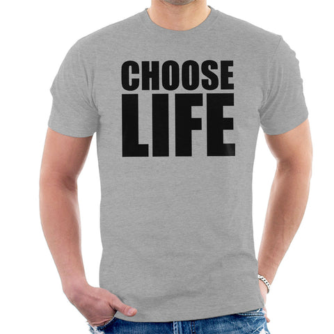 Trainspotting T2 Choose Life Big Men's T-Shirt