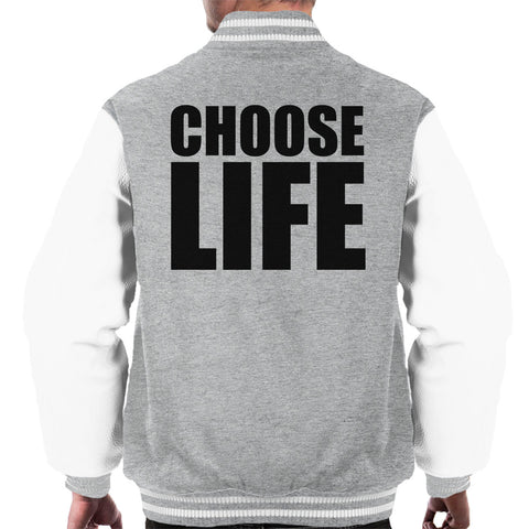 Trainspotting T2 Choose Life Big Men's Varsity Jacket