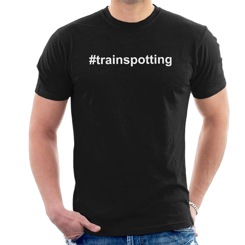 Trainspotting T2 Hashtag Trainspotting Men's T-Shirt