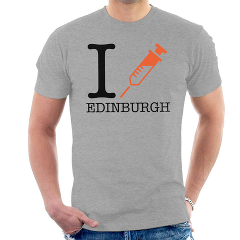 Trainspotting T2 I Heart Edinburgh Men's T-Shirt