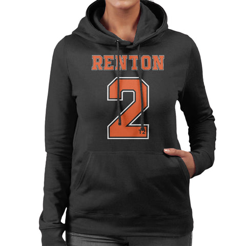 Trainspotting T2 Renton Number 2 Women's Hooded Sweatshirt