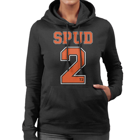 Trainspotting T2 Spud Number 2 Women's Hooded Sweatshirt