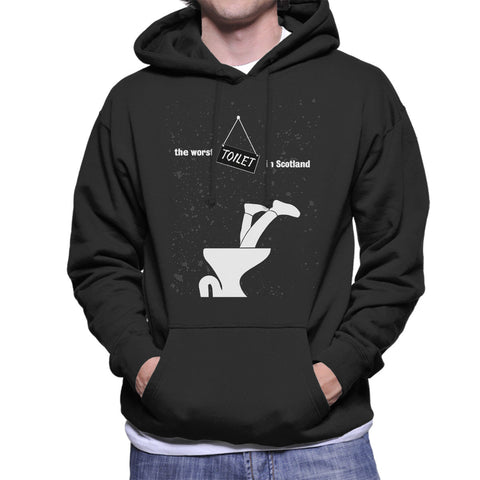 Trainspotting T2 The Worst Toilet In Scotland White Men's Hooded Sweatshirt