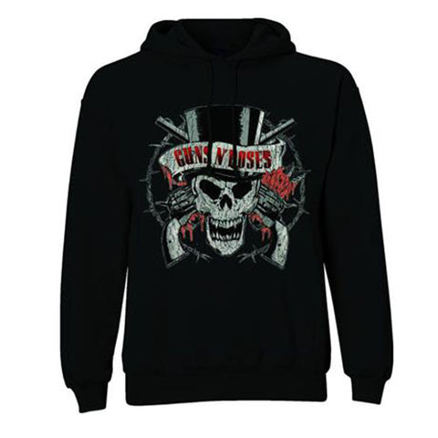 Guns N' Roses Distressed Logo Men's Hoodie