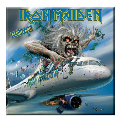 Iron Maiden Flight 666 Fridge Magnet