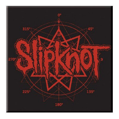 Slipknot Pentagram Logo Fridge Magnet