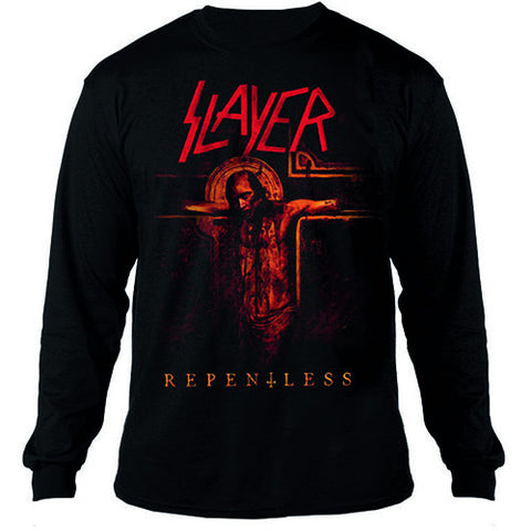 Slayer Repentless Crucifix Men's Sweatshirt