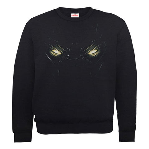 Captain America - Black Panther Eyes Sweatshirt - BAY 57