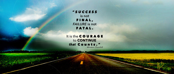 Success and Courage Together